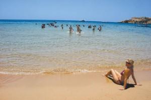 Urlaub agypten--strand