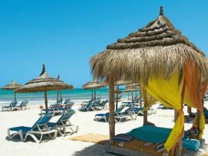 Lastminute Urlaub aufdjerba-im yadis-djerba-golf-thalasso-spa -Strand