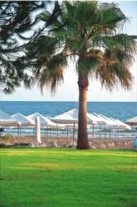 Lastminute Urlaub in der Türkei - der Strand in Side