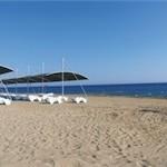 Last Minute Urlaub in der Türkei -  - der Strand in Side