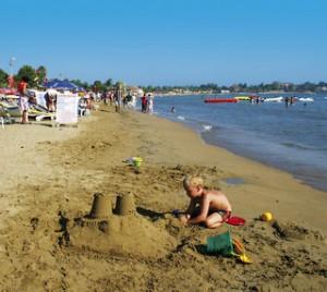 Last Minute Restplätze für Last Minute Reisen in die Türkei - der Strand in Side