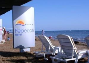 Lastminute Restplätze für Lastminute Reisen in die Türkei - das Febeach am Strand