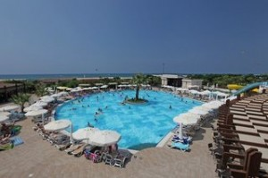 Last Minute Restplätze für Last Minute Reisen in die Türkei - Seamelia Beach Resort - Pool