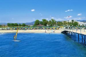 Lastminute Restplätze für Lastminute Reisen in die Türkei - Kastalia Club Strandseite