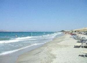 Last Minute Restplätze für last Minute Reisen nach Kos - Horizon Beach Resort mit einem Bild vom Strand