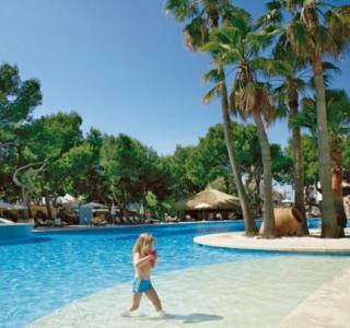 Lastminute Angebote und lastminute Restplätze für Mallorca im Iberostar Royal Cristina - Poolblick