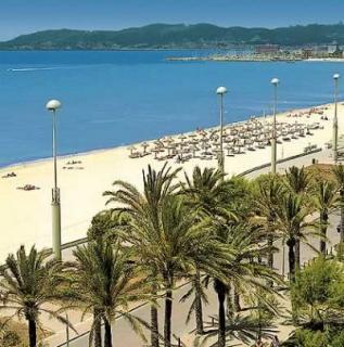 Lastminute Restplätze für den Lastminute Urlaub auf Mallorca - Iberostar Royal Cristina - der Strand von Palma