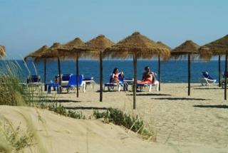 Lastminute Restplätze für Lastminute Reisen nach Spanien - Costa de la Luz - das Iberostar Isla Canela  am Strand