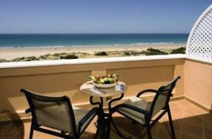 Spanien - Costa de la Luz - die Hipotels Barrosa Park -  Der Blick auf den Strand und den Atlantik