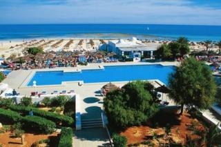 Lastminute Angebote für den Lastminute Urlaub inTunesien im Calimera Yati Beach mit Bilck auf den Pool und das Mittelmeer