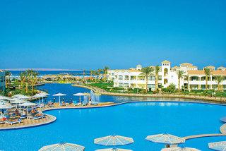 Lastminute Angebote und Lastminute Restplätze für Ägypten im Dana Beach mit Blick auf den Pool, die Lagune und das Meer