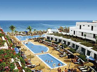 Lastminute Restplätze für Lastminute Reisen nach Fuerteventura - Barlovento Club mit Blick auf die Pools und den Strand