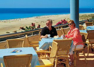Last Minute Restplätze für Last Minute Reisen nach Fuerteventura ins Iberostar Palace Füerteventura mit Blick auf den Strand