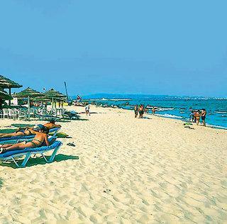 Last Minute Restplätze für Last Minute Reisen nach Tunesien - der Privat-Strand von Hammamet am Iberostar Belisaire
