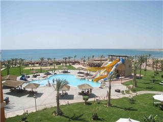 Last Minute Angebote für den Last Minute Urlaub in Ägypten - Caribbian World Soma Bay mit Blick in Richtung Strand und Rotes Meer