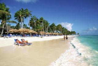 Last Minute Restplätze für Last Minute Reisen in die Dom Rep ins Natura Park Resort und Spa - Strandeindruck - Punta Cana