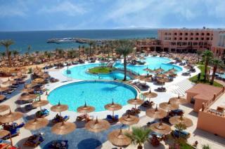 Last Minute Restplätze für Last Minute Reisen und den Last Minute Urlaub in Ägypten im Albatros Beach in einer Aussenaufnahme