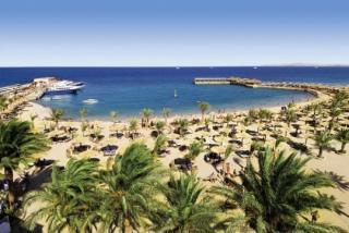 Last Minute Angebote und Last Minute Restplätze für Ägypten im Albatros Beach mit Blick auf den Strand am Roten Meer