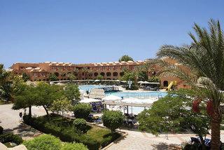 Last Minute Angebote für den Last Minute Urlaub in Ägypten - Iberotel Makadi Club Oasis mit Blick auf die Hotelanlage