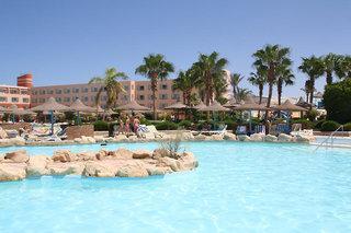 Last Minute Angebote für den Last Minute Urlaub in Ägypten - Primasol Titanic Resort und Aquapark mit Blick über den Pool