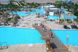 Last Minute Angebote und Last Minute Restplätze für Ägypten - Primasol Titanic Resort und Aquapark mit Blick auf den Aquapark