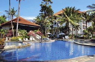 Last Minute Angebote und Last Minute Restplätze für Bali - Sanur Paradise Plaza mit einem Blick in den Garten