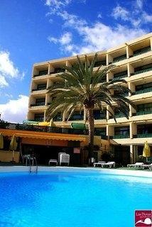 Last Minute Angebote und Last Minute Restplätze für Gran Canaria im Apparthotel Las Dunas die Aussenansicht mit Pool