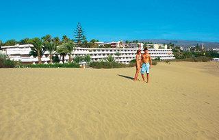 Last Minute Restplätze für Last Minute Reisen nach Gran Canaria nach Playa del Ingles - Strandbild