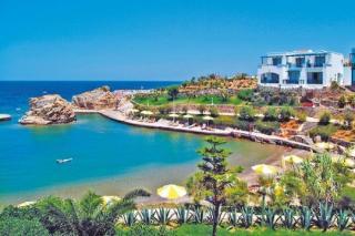 Günstige Last Minute Angebote für den Last Minute Urlaub auf  Kreta im Iberostar Creta Marine am Strand mit Blick auf eine hoteleigene Bucht und die Unterbringung