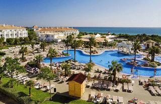 Last Minute Angebote für den Last Minute Urlaub in Spanien an der  Costa de la Luz im RIU Chiclana. Das Luftbild verschafft Überblick