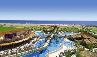 Last Minute Restplätze und Last Minute Angebote für die Türkei im Royal Dragon mit Blick Richtung Strand