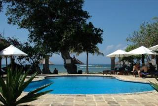 Last Minute Angebote für Bali im Matahari Termit mit Blick auf den Pool und den Ozean