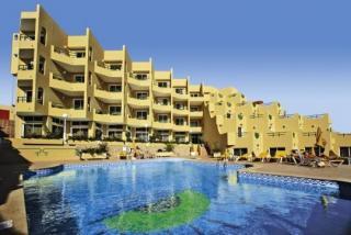 Last Minute Angebote für den last minute Urlaub auf Fuerteventura in den Appartments Morasol Atlantico mit Blick auf den Pool und die Appartments
