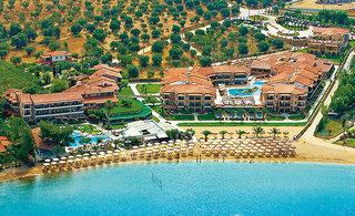 Günstige Last Minute Angebote für Griechenland im Anthemua Sea Beach in einer Aussenansicht