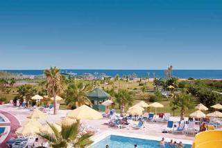 Last Minute Restplätze und Last Minute Angebote für die Türkei im Royal Atlantis Resort & Spa mit einem Blick vom Rutschenturm Richtung Meer