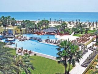 Lastminute Restplätze und Last Minute Angebote für Tunesien im Paradis Palace mit einem Blick über Pool und Strand