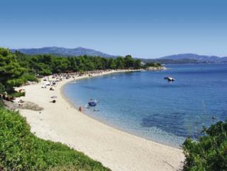 Last Minute Restplätze für Griechenland im Lagomandra & Spa mit einem Bild vom Strand