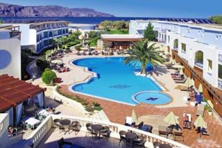 Last Minute Urlaub auf Kreta im Mythos Palace in einer Außenansicht