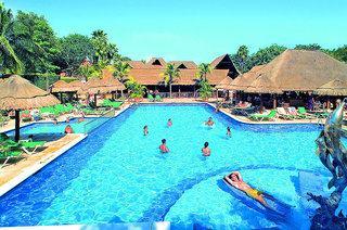 Lastminute Reisen für den Lastminute Urlaub in Mexico im RIU Lupita mit Blick auf den Pool
