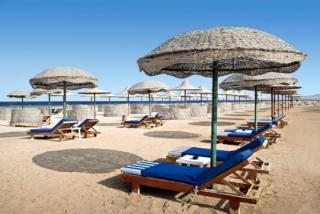 Last Minute Reisen nach Ägypten im Gorgonia Beach mit einem Bild vom Strand