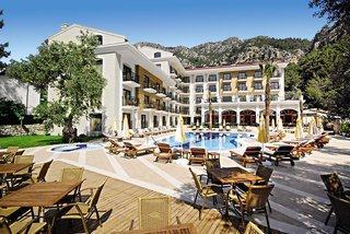 Last Minute Angebote für die Türkei im Meril Botique Hotel in einer Außenansicht