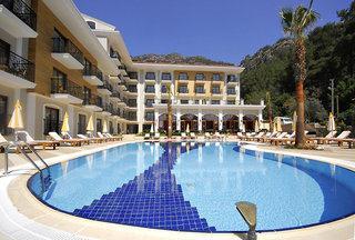 Last Minute Urlaub in der Türkei im Meril Botique Hotel mit einem Blick auf den Pool