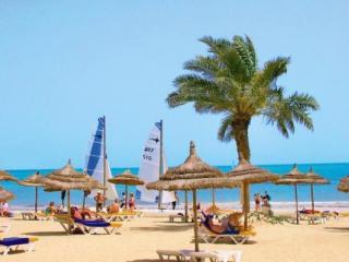 Last Minute Urlaub in Tunesien im Eden Beach mit einem Bild vom Strand