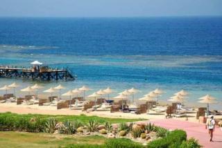 Ägypten im Fantazia Resort am Strand