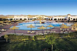 Ägypten im Funtasia Resort mit Blick auf die Anlage