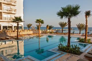 Ägypten im Three Corners Royal Star Beach mit Blick auf den Pool