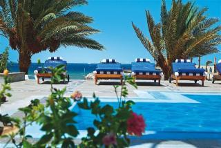 Ägypten im Three Corners Royal Star Beach mit einem Blick Richtung Meer