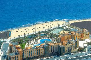 Fuerteventura im Elba Sara Beach und Golf Resort in einem Bild aus der Luft