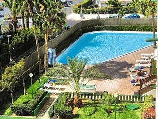 Gran Canaria in den Principado Apartments mit einem Blick auf den Pool