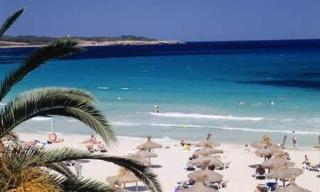 Mallorca im Club S`Illot mit Blick auf den Strand